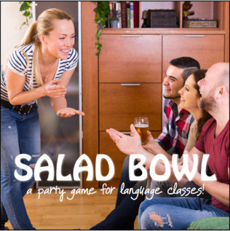 Salad Bowl game for language classes