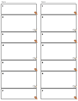 Write draw pass downloadable game form from The Comprehensible Classroom for language classes