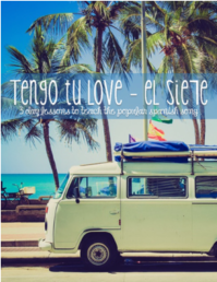Tengo tu love lesson plans for Spanish classes by The Comprehensible Classroom www.martinabex.com