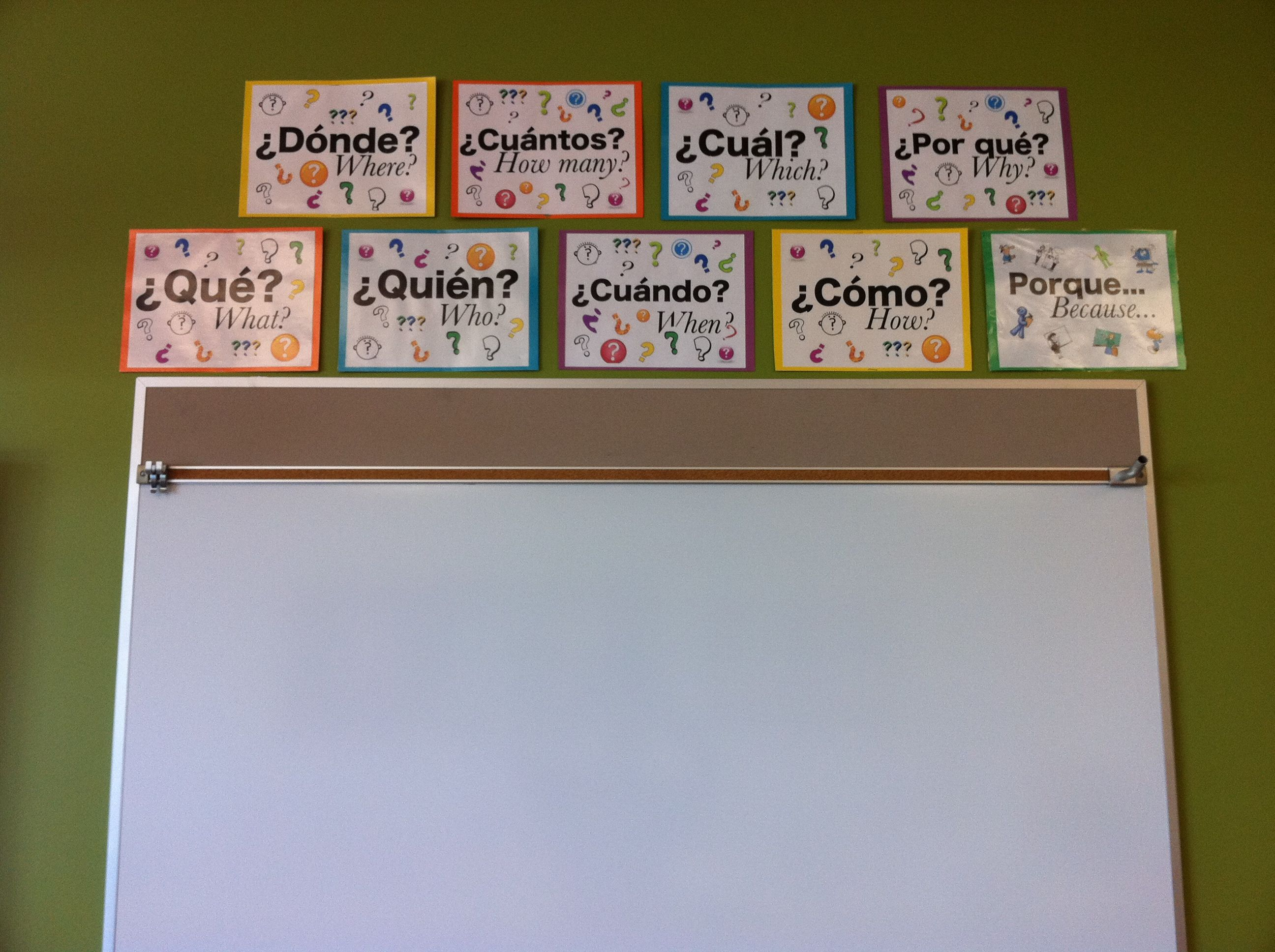 Foreign Language Classroom Decorations ~ Posters the comprehensible classroom