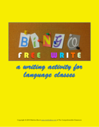 Extend your bingo game with a free write
