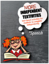 Independent activities to demonstrate reading comprehension