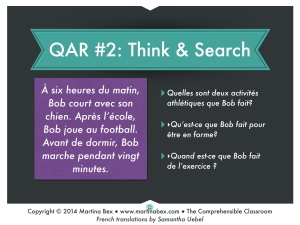 French Intro to QAR