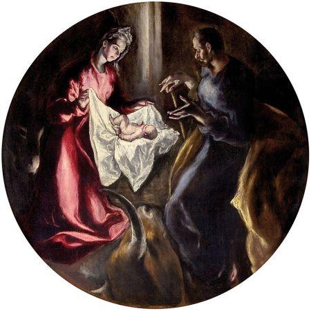"""""""Natividad"""" - El Greco (Public Domain)"""