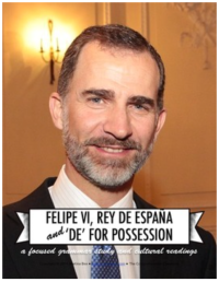 "Click on the image to access ""de for possession"" lesson plans"