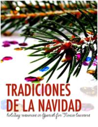 Tradiciones de la Navidad lessons from Martina Bex