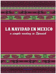 Click on image to access reading about Christmas traditions in Mexico