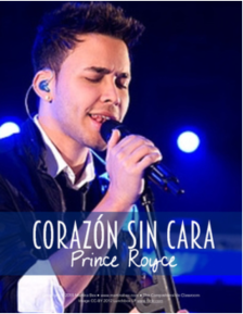 Corazón sin cara Prince Royce song activity for Spanish classes