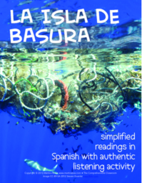 Isla de basura readings in Spanish with #authres video activity