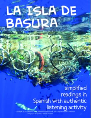 Isla de basura readings in Spanish with #authres video activity