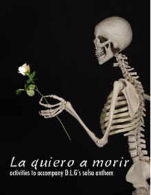 La quiero a morir - song activities for Spanish class