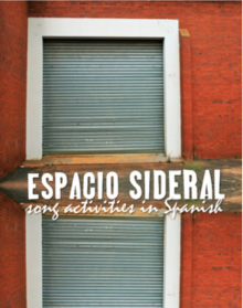 Espacio sideral song activities for Spanish classes