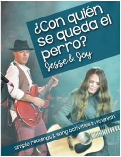 Con quién se queda el perro activities for the Jesse & Joy song for Spanish classes
