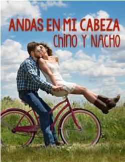 Andas en mi cabeza materials for Spanish classes by Chino y Nacho