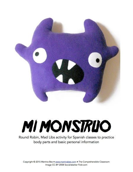 Click on image to download Monster activity
