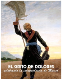Click on image to access lesson plans for El Día de la Independencia de México