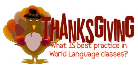 thanksgiving in world language classes día de acción de gracias spanish french
