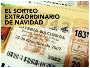 Click on image to access lesson plans and resources to teach students about the Spanish Christmas lottery without vocab introduction