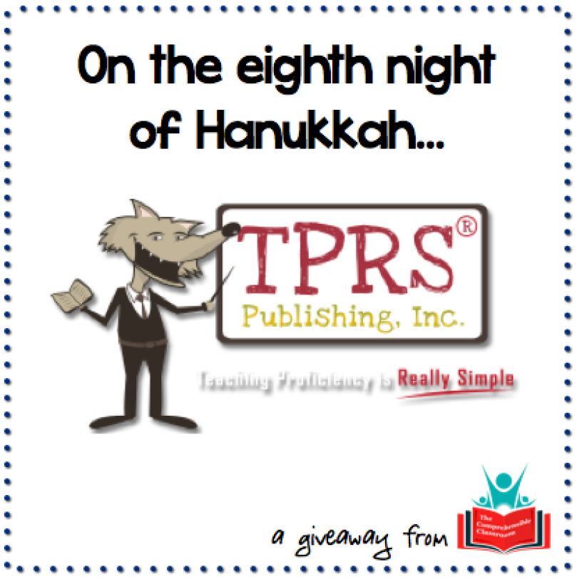 Win a class set of novels from TPRS Publishing Inc.