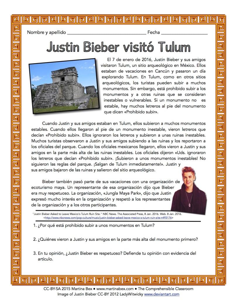 Justin Bieber Tulum