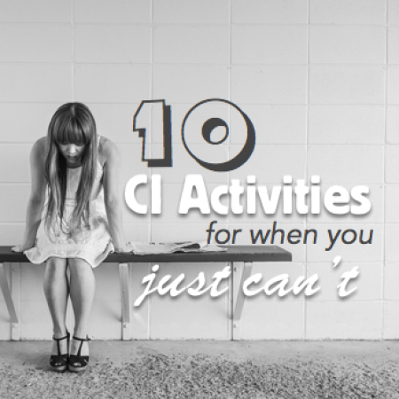 10 CI activities for when you just can't