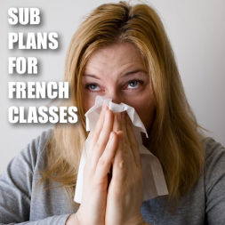 Sub plans for French classes