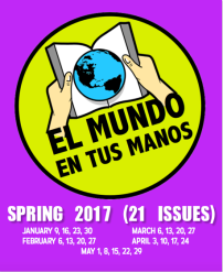 Spring 2017 21 issues of weekly news summaries in Spanish for Novice students