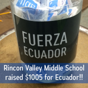 Encourage your students to raise money for Ecuador earthquake relief