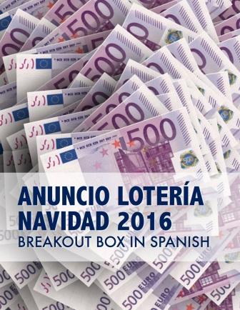 BreakoutEDU activity for 2016 Spanish Christmas lottery commercial