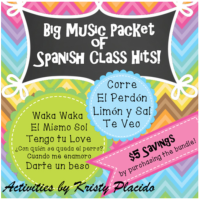 10 songs for Spanish classes by Teaching in Target