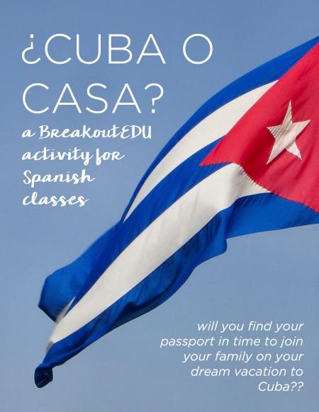 Cuba o casa? #BreakoutEDU activity for Spanish classes from www.martinabex.com