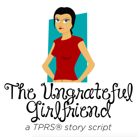 The ungrateful girlfriend story script