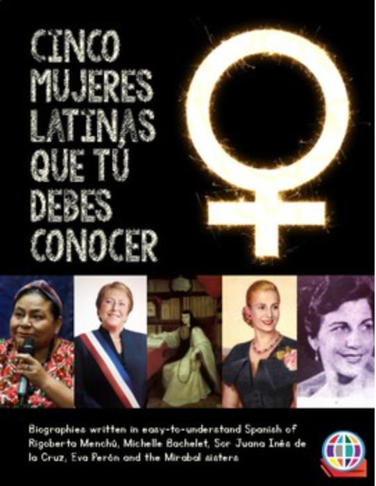 Cinco mujeres latinas que tú debes conocer - Five readings in Spanish
