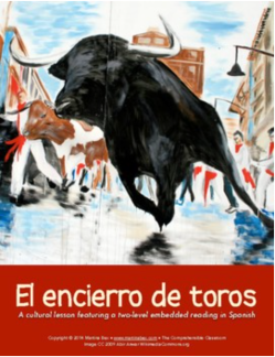 Readings and cultural materials in Spanish to teach students about the Running of the Bulls