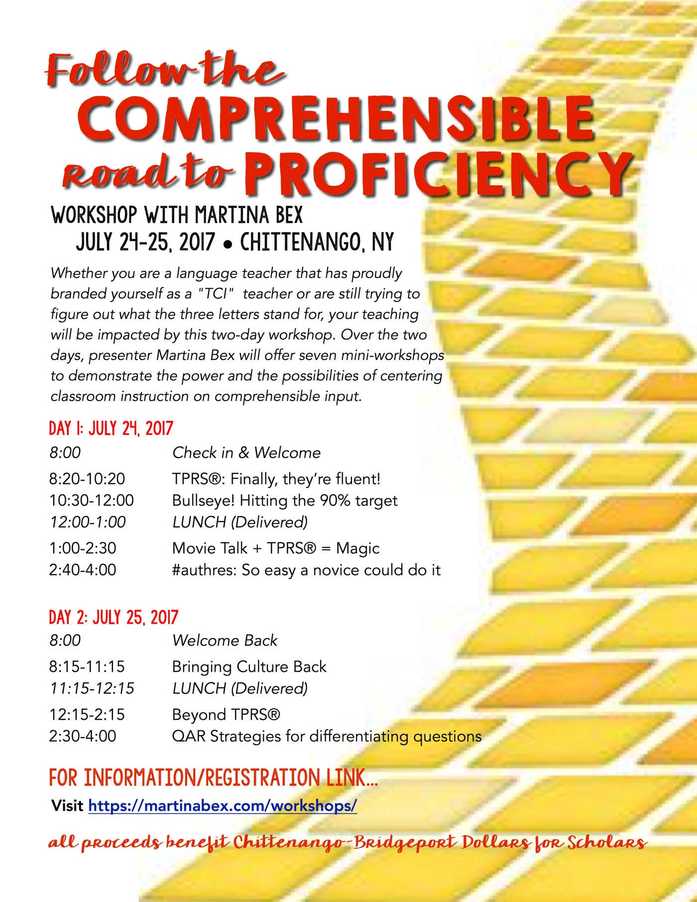 comprehensible road flyer JPEG