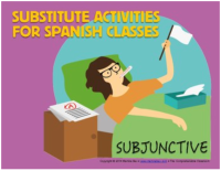 Subjunctive stories for sub days or fillers for Spanish classes