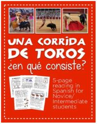 What happens during a bullfight? Corrida de toros description in Spanish for Spanish classes en español