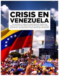 Crisis in Venezuela for Spanish classes 6 articles in Spanish en español https://www.teacherspayteachers.com/Product/Crisis-in-Venezuela-6-news-articles-in-Spanish-from-2016-2017-3120226