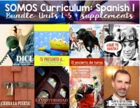 SOMOS Spanish 1 bundle for Spanish classes
