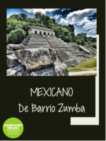 Mexicano by Barrio Zumba song activities for Spanish classes food unit la comida
