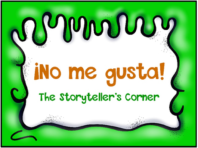 No me gusta food story in Spanish for Spanish classes la comida unit