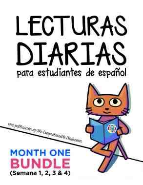 Lecturas diarias bundle image