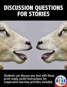 Discussion questions for stories in Spanish and English from The Comprehensible Classroom